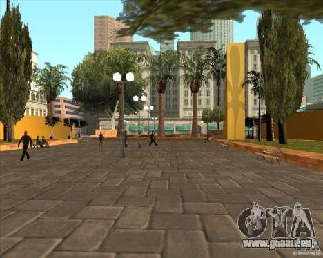 Die neue Central Park von Los Santos für GTA San Andreas zweiten Screenshot