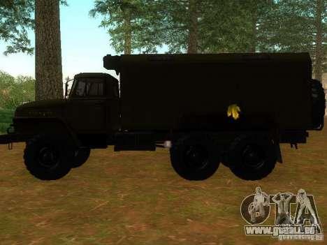 Ural Kung 4320 pour GTA San Andreas laissé vue