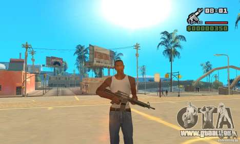 New Weapon Icon Pack für GTA San Andreas dritten Screenshot