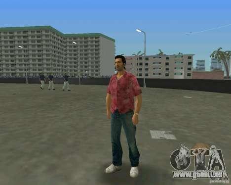Tommy in HD + neues Modell für GTA Vice City fünften Screenshot