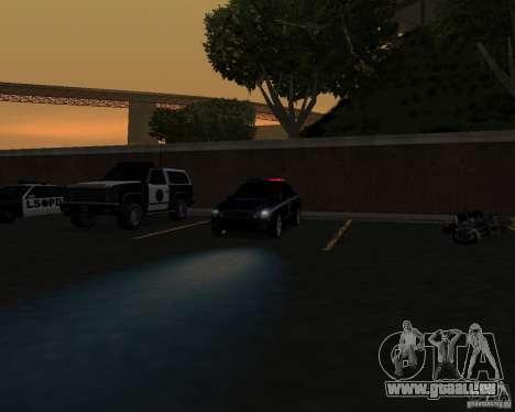 Die Arbeit der Polizei! für GTA San Andreas dritten Screenshot