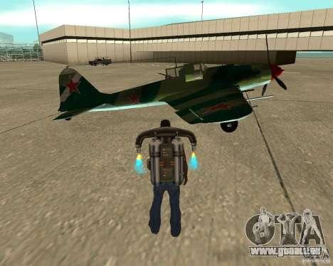 Il-2 m für GTA San Andreas rechten Ansicht