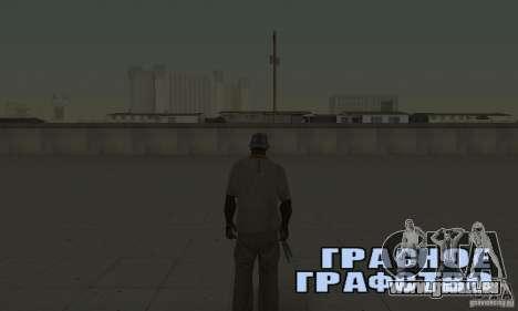 Sohranâjsâ partout où vous voulez pour GTA San Andreas quatrième écran