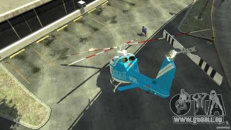 NYPD Bell 412 EP pour GTA 4 est un droit