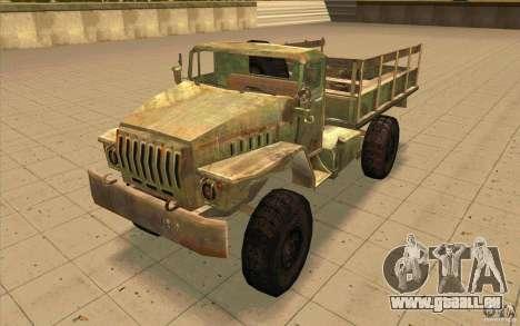 Ural-43206 für GTA San Andreas