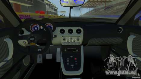 Alfa Romeo 8C Competizione Body Kit 2 pour GTA 4 Vue arrière