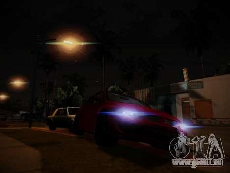L'éblouissement de la lumière pour GTA San Andreas deuxième écran