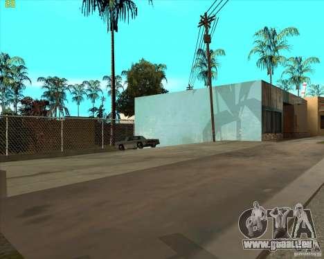 Car in Grove Street für GTA San Andreas sechsten Screenshot