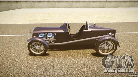 Vintage race car pour GTA 4 est une gauche