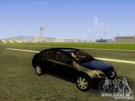Nissan Sentra 2012 pour GTA San Andreas vue intérieure