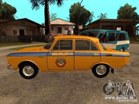 AZLK 2140 Miliz frühe version für GTA San Andreas linke Ansicht