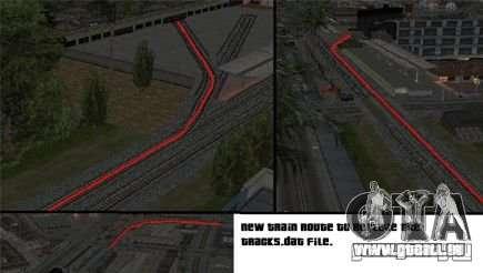Aktivierung (neue Routen für Züge) für GTA San Andreas