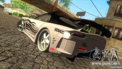 Mazda RX-7 Veilside Logan pour GTA San Andreas laissé vue