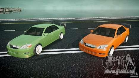 Toyota JZX110 pour GTA 4 est une vue de dessous