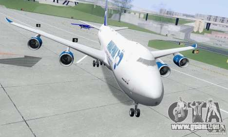 Boeing 747-8F für GTA San Andreas