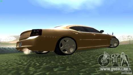 Dodge Charger SRT8 Re-Upload für GTA San Andreas Rückansicht