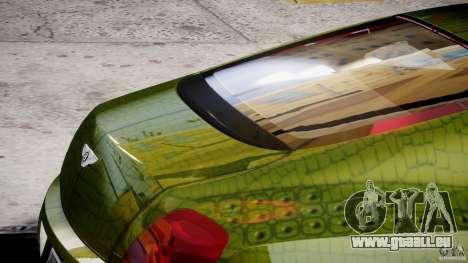 Bentley Continental SS 2010 Suitcase Croco [EPM] pour GTA 4 est une vue de dessous
