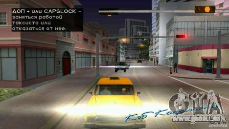 Reiten-Passagier für GTA Vice City fünften Screenshot