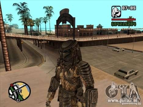 Predator Predator (Maske) für GTA San Andreas dritten Screenshot