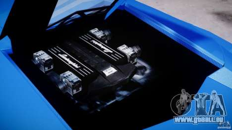 Lamborghini Reventon Polizia Italiana pour GTA 4 est un côté