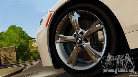 BMW Z4 sDrive 28is 2012 v2.0 pour GTA 4 Vue arrière de la gauche