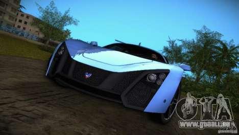 Marussia B2 2010 für GTA Vice City linke Ansicht