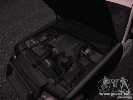 Ford Crown Victoria Police 2003 pour GTA San Andreas vue intérieure