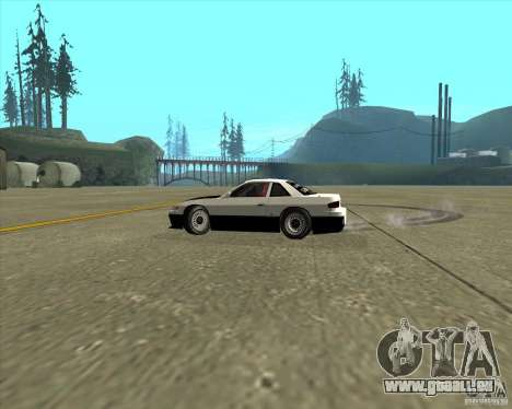 Nissan Silvia S13 streets phenomenon pour GTA San Andreas vue intérieure