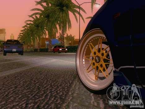 Honda Civic JDM Hatch für GTA San Andreas Rückansicht