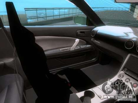 Nissan Silvia S15 drift für GTA San Andreas Innenansicht