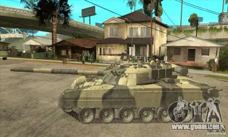 T-80U MBT pour GTA San Andreas laissé vue