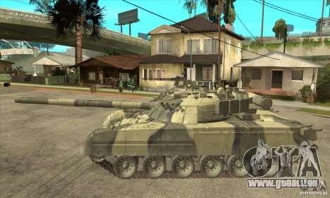 T-80U MBT für GTA San Andreas linke Ansicht