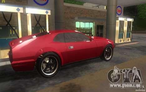 AMC Javelin 2010 für GTA San Andreas zurück linke Ansicht