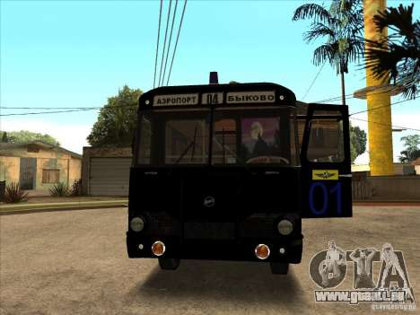 LIAZ 677p pour GTA San Andreas laissé vue
