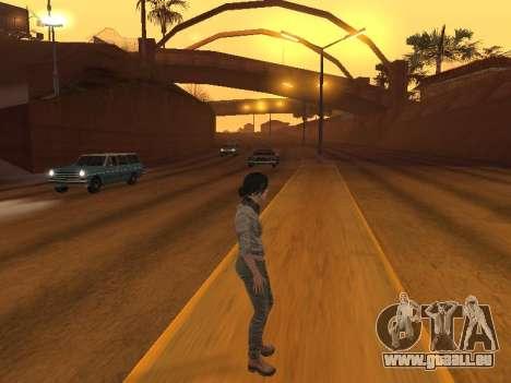 FaryCry 3 Liza Snow für GTA San Andreas fünften Screenshot