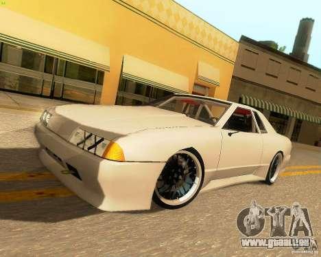 Elegy Drift Korch für GTA San Andreas zurück linke Ansicht