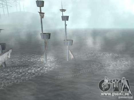 Bateau pirate pour GTA San Andreas cinquième écran