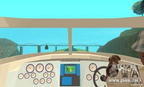 Speed Motorboat pour GTA San Andreas vue de droite