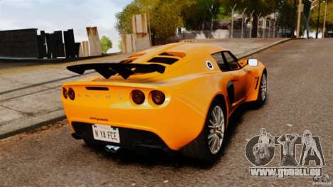 Lotus Exige 240 CUP 2006 pour GTA 4 Vue arrière de la gauche
