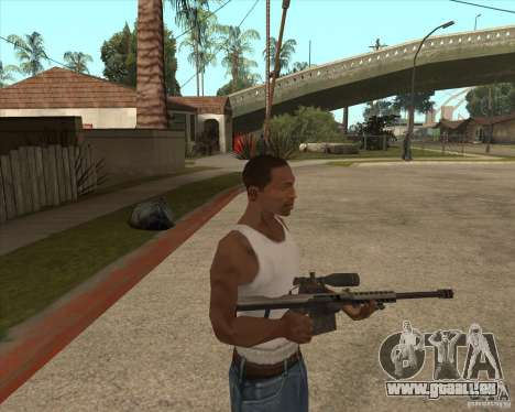 New sniper pour GTA San Andreas