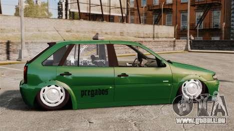 Volkswagen Gol G4 Edit pour GTA 4 est une gauche