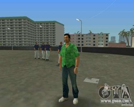 Tommy en HD + nouveau modèle pour le quatrième écran GTA Vice City