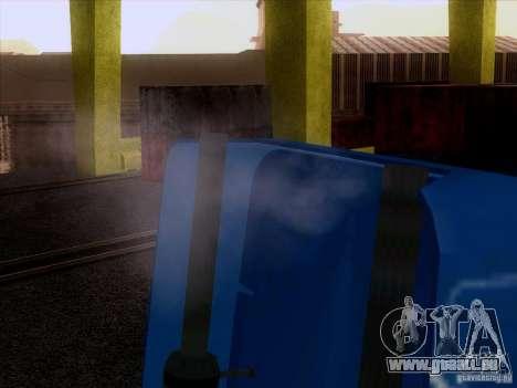 Freightliner Argosy Skin 1 pour GTA San Andreas vue arrière