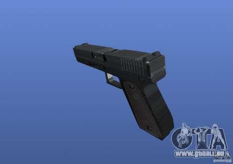 Glock pour GTA 4 secondes d'écran
