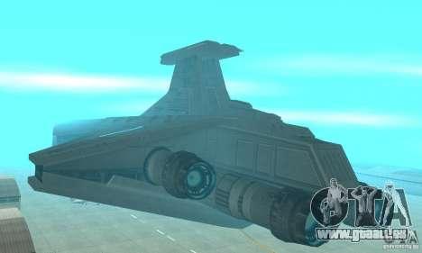 Republic Attack Cruiser Venator class v2 für GTA San Andreas