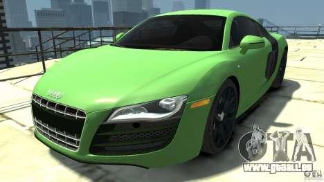 Audi R8 5.2 FSI quattro v1 pour GTA 4