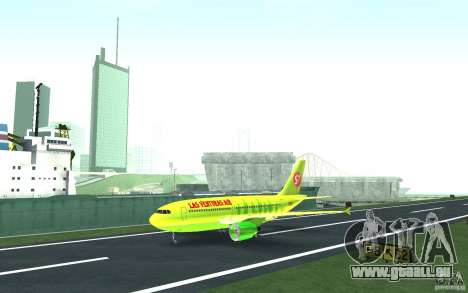 Airbus A310 S7 Airlines für GTA San Andreas
