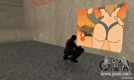 South Park Grafitti Mod für GTA San Andreas her Screenshot