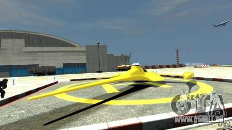 Naboofighter für GTA 4 hinten links Ansicht
