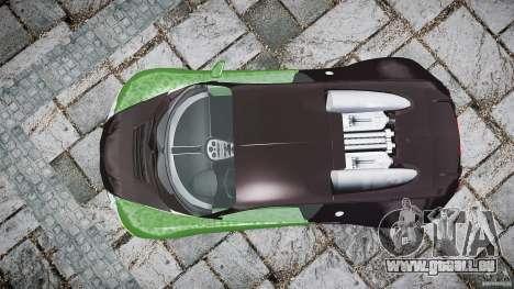 Bugatti Veyron 16.4 pour GTA 4 est un droit